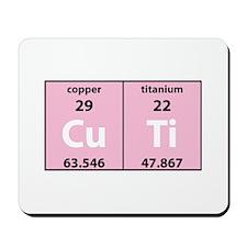 Chemistry Cutie Mousepad