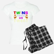 twins trick or treat Pajamas