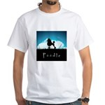 Nightsky Poodle White T-Shirt