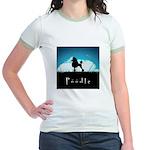 Nightsky Poodle Jr. Ringer T-Shirt