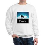 Nightsky Poodle Sweatshirt