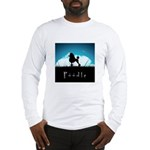 Nightsky Poodle Long Sleeve T-Shirt