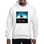 Nightsky Poodle Hooded Sweatshirt