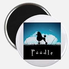 Nightsky Poodle Magnet