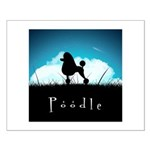 Nightsky Poodle Small Poster