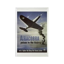 Airacobra Rectangle Magnet