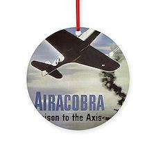 Airacobra Ornament (Round)