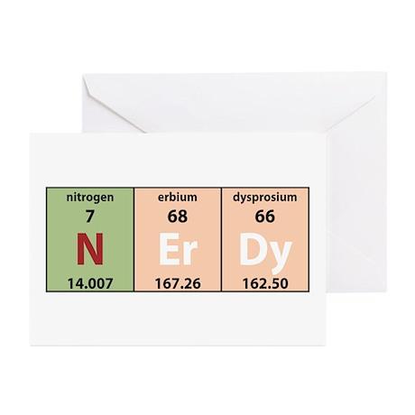 Chemistry Nerdy Greeting Cards (Pk of 10)