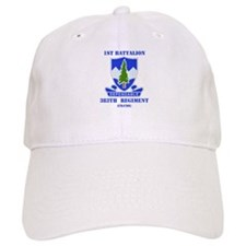 DUI - 1st Bn - 383rd Regt (CS/CSS) with Text Baseball Cap