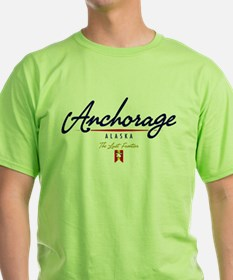 Anchorage Script T-Shirt