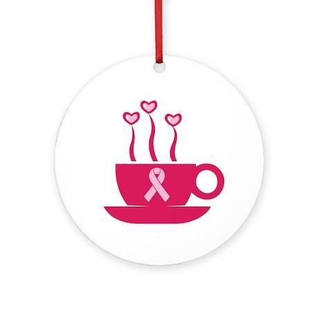 BreastCancerAwareness Ornament (Round)