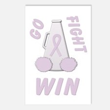 Orchid WIN Ribbon Postcards (Package of 8)