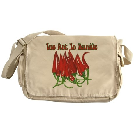 Too Hot To Handle Messenger Bag