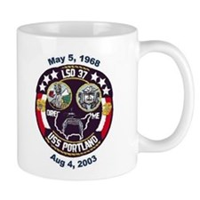 USS Portland LSD 37 Decommission Small Mug