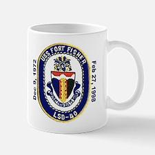 USS Fort Fisher LSD 40 Decommission Mug
