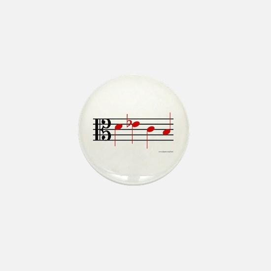 Cute Shostakovich Mini Button