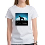 Nightsky Great Dane Women's T-Shirt