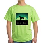 Nightsky Great Dane Green T-Shirt