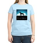 Nightsky Great Dane Women's Light T-Shirt