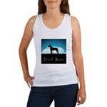 Nightsky Great Dane Women's Tank Top
