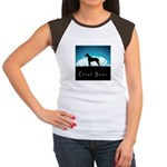 Nightsky Great Dane Women's Cap Sleeve T-Shirt