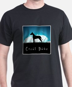 Nightsky Great Dane T-Shirt