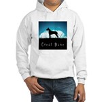 Nightsky Great Dane Hooded Sweatshirt