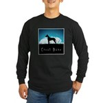Nightsky Great Dane Long Sleeve Dark T-Shirt