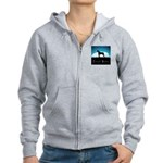 Nightsky Great Dane Women's Zip Hoodie