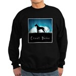 Nightsky Great Dane Sweatshirt (dark)