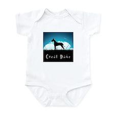 Nightsky Great Dane Infant Bodysuit
