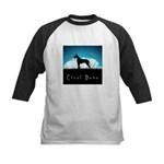 Nightsky Great Dane Kids Baseball Jersey