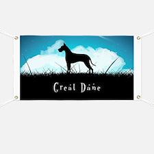 Nightsky Great Dane Banner