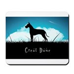 Nightsky Great Dane Mousepad