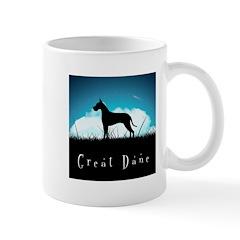 Nightsky Great Dane Mug