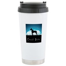Nightsky Great Dane Travel Mug