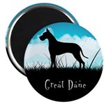 Nightsky Great Dane Magnet