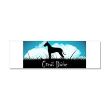 Nightsky Great Dane Car Magnet 10 x 3