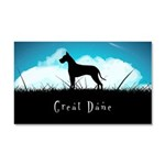 Nightsky Great Dane Car Magnet 20 x 12