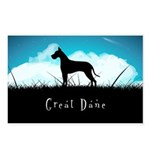 Nightsky Great Dane Postcards (Package of 8)