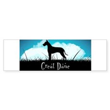 Nightsky Great Dane Bumper Sticker