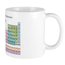 Periodic Table Small Mugs