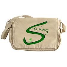 Swing dance instructor Messenger Bag