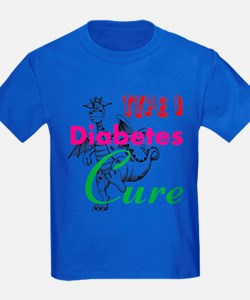 Cute Cure diabetes T
