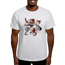 Fraser Tartan Lion T-Shirt