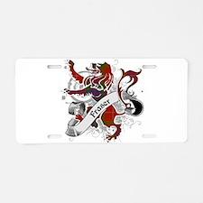 Fraser Tartan Lion Aluminum License Plate