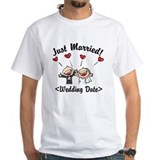 Honeymoon Mens Classic White T-Shirts