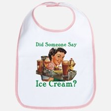 Someone Say Ice Cream Bib