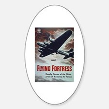 Flying Fortress Oval Decal
