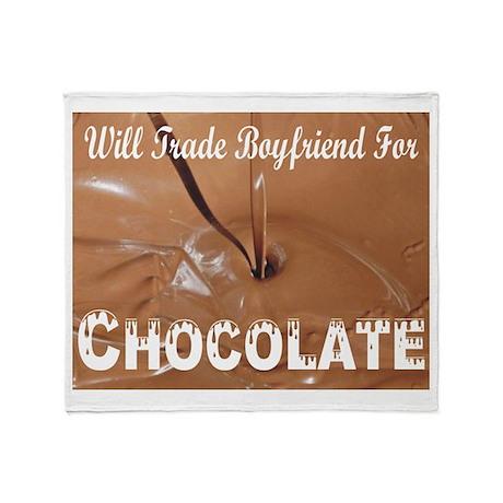Will Trade Boyfriend Throw Blanket